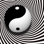Yin yang — Stock Photo
