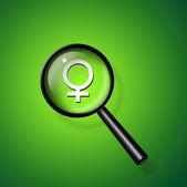 Najít ženu — Stock fotografie