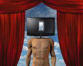 Theater mind — Stock Photo