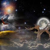 Mystical composition — Foto de Stock