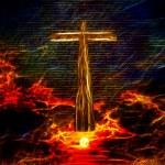 Cross in sky — Stock Photo #42968659