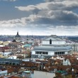 Madrid city skyline after strom — Stock Photo #21459015