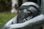 Dream of clasical statue — Stockfoto