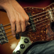 Bass Guitar — Foto Stock