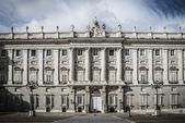 Royal Palace Madrid — Foto de Stock