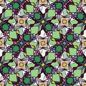Kaleidoskop muster seamless — Stockvektor