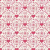 Seamless 'love' — Stock Vector