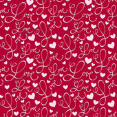 Seamless 'love' pattern — Stok Vektör