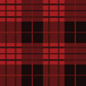 Red plaid pattern. — Stock Vector