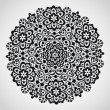 Royalty-Free Stock Vektorfiler: Ornamental round lace pattern