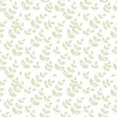 Naadloze patroon met abstracte bladeren — Stockvector