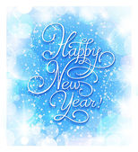 New Year greeting card. — Stock Vector