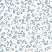 Elegant seamless floral pattern. — Stock Vector