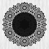 декоративные раунд — Cтоковый вектор