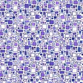 Абстрактный бесшовный ручной обращается картины — Cтоковый вектор