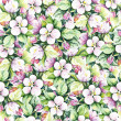 Seamless pattern with decorative flowers — Stock Photo #47661715