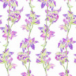 Seamless pattern with decorative flowers — Stock Photo #47661731