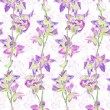 Seamless pattern with decorative flowers — Stock Photo #47661737
