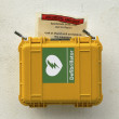 Emergency. Cardiac defibrillator - Stock Photo