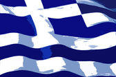Greece. National Flag — Stock Vector