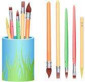 Art Brushes — Stock Photo
