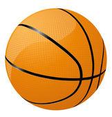 баскетбол значок — Стоковое фото