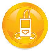 MP3 Player icon — Stock Photo