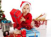 圣诞老人帮助器 — 图库照片