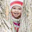 Happy baby in the park — Stock Photo #21597487