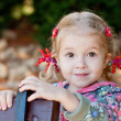 Stock Photo: Adorable little girl portrait