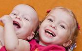 Happy little children — Stock Photo