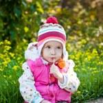 Cute little girl — Stock Photo #33242963