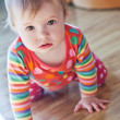Stock Photo: Baby to crawl on floor