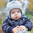 Stock Photo: Portrait of cute baby boy
