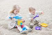 Cute little kids playing  — Stock Photo