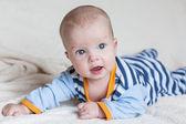 Krásný modrooký chlapec — Stock fotografie