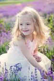 Portrait smiling toddler girl — Stock Photo