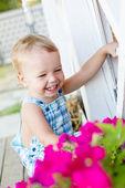 Ritratto di bambino felice ragazzo — Foto Stock