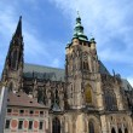 Saint Vitus Cathedral — Stock Photo #26089773