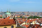 Roofs of Prague — Stockfoto
