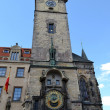 Foto Stock: Astronomical clock tower