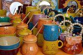 Hungarian ceramics — Stock Photo