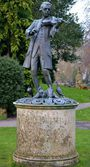 статуя из парка — Стоковое фото