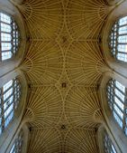 Interior from Bath cathedral — Stock Photo