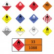 Royalty-Free Stock Vector Image: Warning signs, symbols