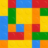 Vector block on white background — Stock Vector
