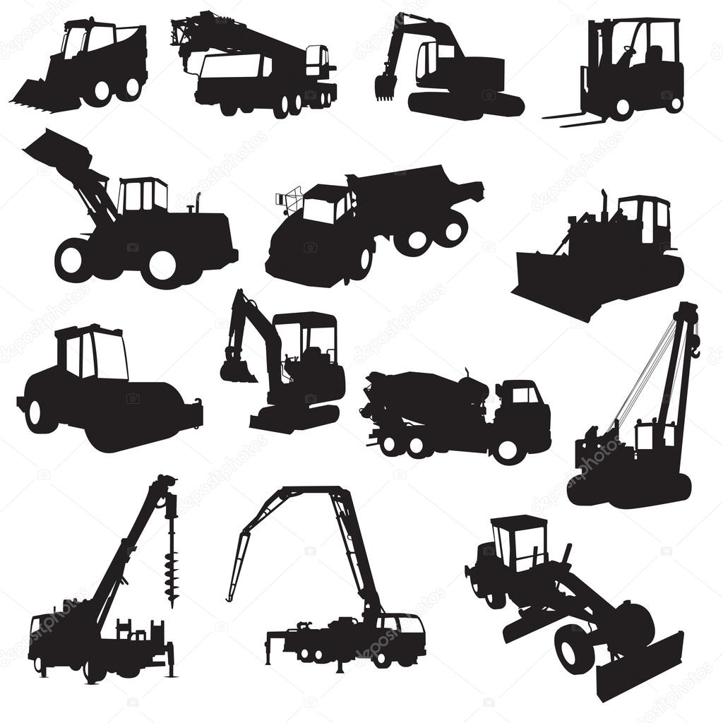 Download - Silh... Construction Sign Silhouette