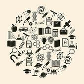 Vector science icon — Stock Vector