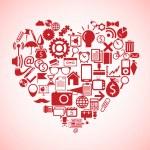Heart concept — Stock Vector #34571953