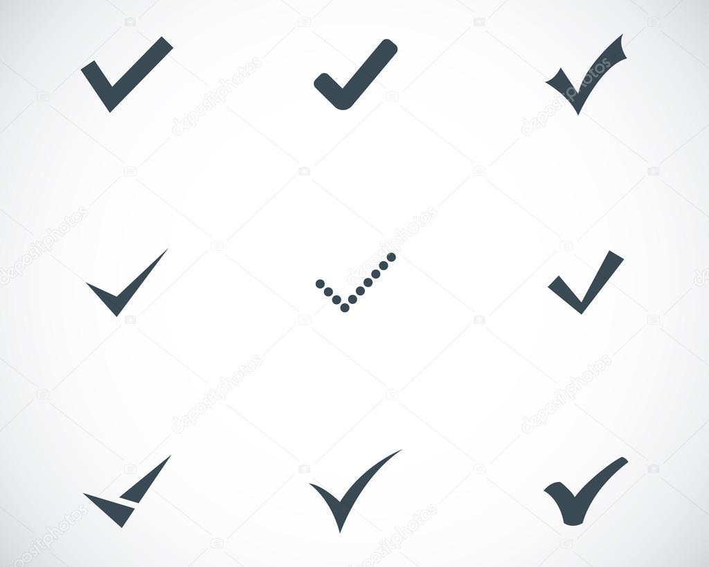 иконка галочка: